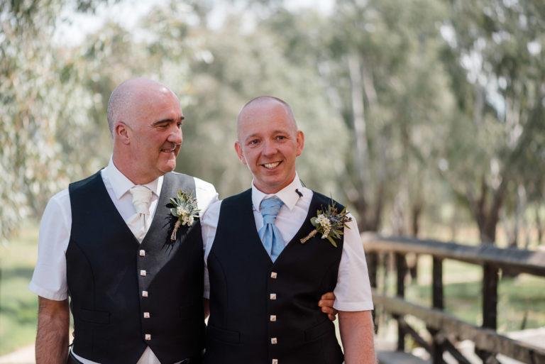 Darren + Alistair