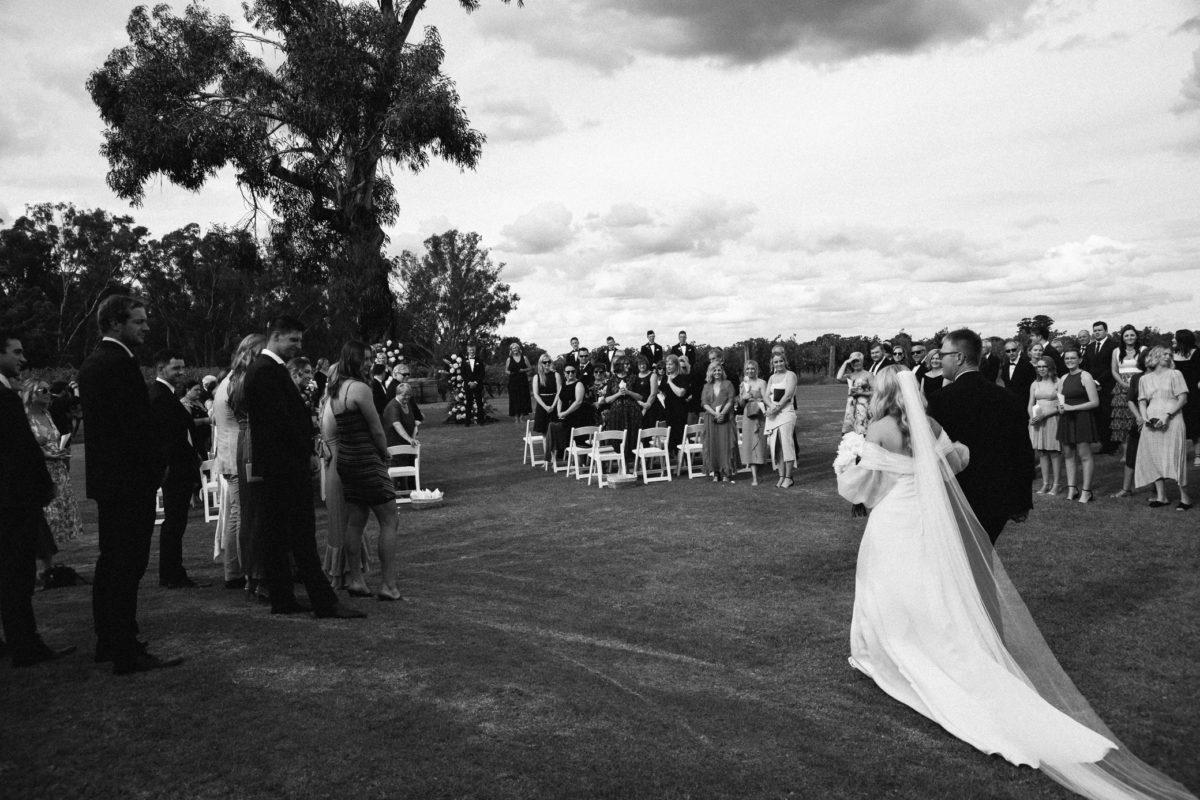 Sarah + Lloyd – St Leonard's Winery Wedding